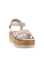Corky's Shoes Fluffie wedged sandal - Product Mini Image
