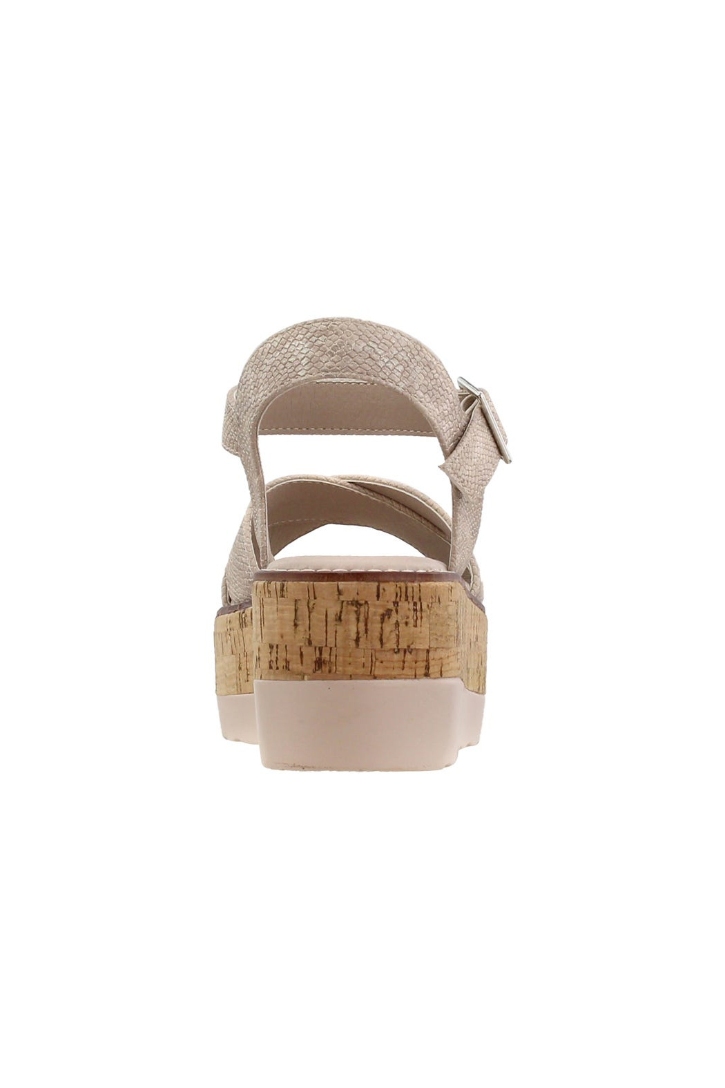 Corky's Shoes Fluffie wedged sandal - Side Cropped Image