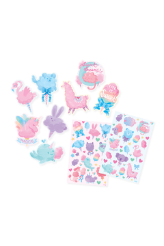 Ooly Fluffy Cotton Candy Scented Stickers - Alternate List Image