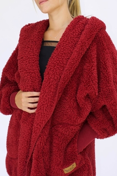 Shoptiques Product: Fluffy Fleece Wrap