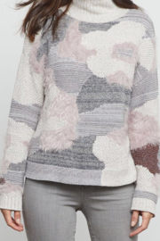 Nic+Zoe Fluffy Florals Sweater - Product Mini Image