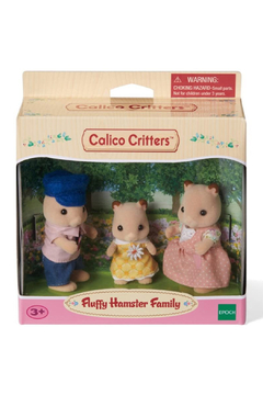 Calico Critters Fluffy Hamster Family - Product List Image