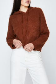 MinkPink Fluffy Knit Hoodie - Other