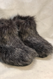 Jeffrey Campbell Fluffy-Lo-Flat Short Furry Boot - Product Mini Image