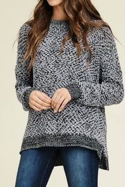 Staccato Fluffy Pullover Sweater - Product Mini Image