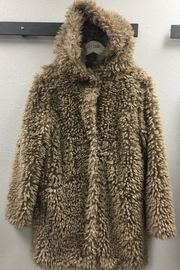 Dylan Fluffy Sherpa Coat - Product Mini Image