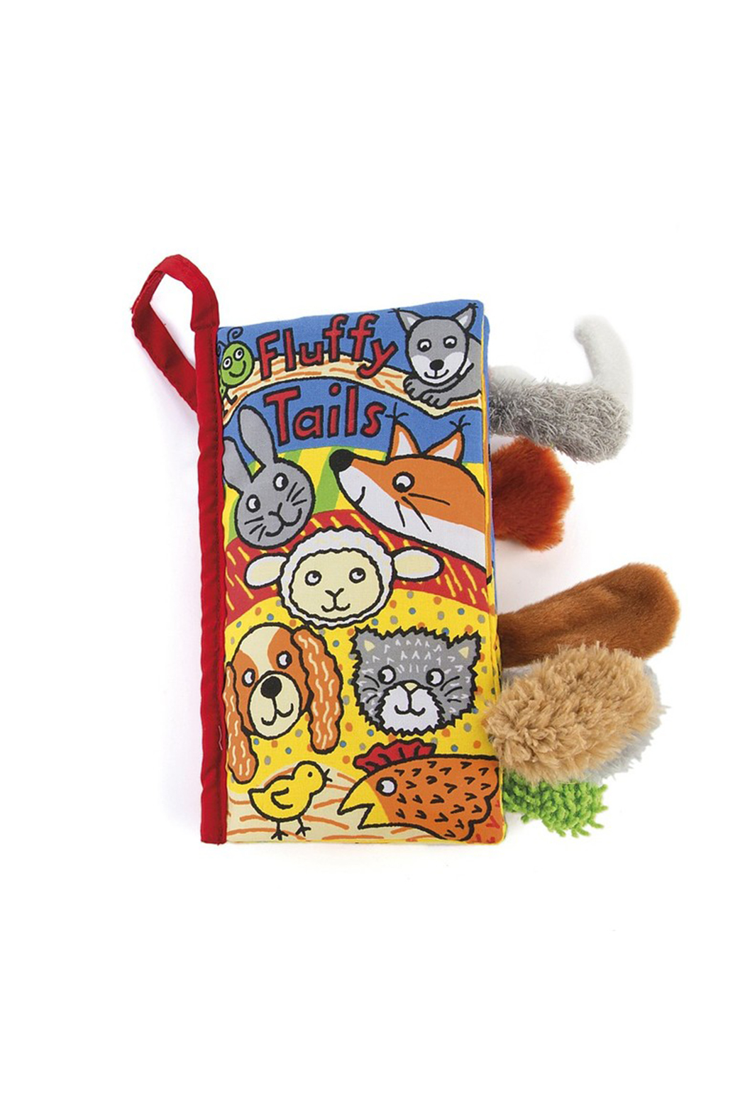 Jellycat Fluffy Tails Book - Main Image