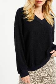 Wishlist FLUFFY V-NECK SWEATER - Front cropped