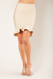 Wow Couture Fluted Hem Bandage Skirt - Product Mini Image