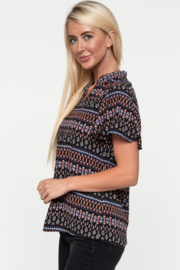Downeast  Flutter Away with Me Top - Front full body