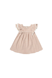 Quincy Mae Flutter Dress - Front cropped