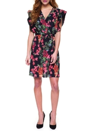 Dex Flutter Floral Dress - Product Mini Image