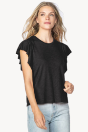 Lilla P Flutter Sleeve Black - Product Mini Image