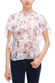 On Twelfth Flutter Sleeve Blouse - Product Mini Image