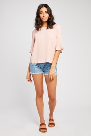Gentle Fawn Flutter Sleeve Blouse - Product Mini Image