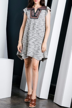THML Clothing Flutter Sleeve Dress - Product List Image