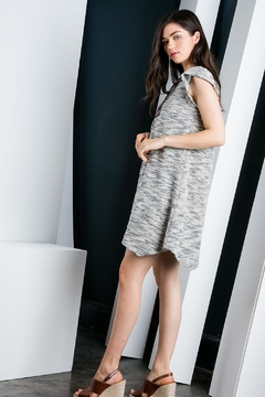 THML Clothing Flutter Sleeve Dress - Alternate List Image