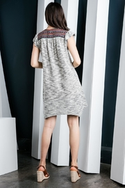 THML Clothing Flutter Sleeve Dress - Side cropped