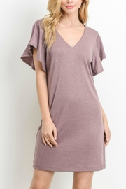 Le Lis Flutter Sleeve Dress - Product Mini Image