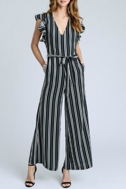 storia Flutter Sleeve Jumpsuit - Product Mini Image