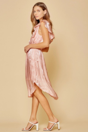 Andree by Unit Flutter Sleeve Midi Dress - Side cropped