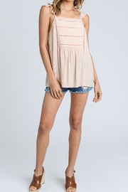 Doe & Rae Flutter Sleeve Tank - Product Mini Image