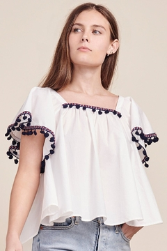 Shoptiques Product: Flutter Sleeve Tee