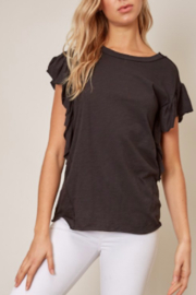Mustard Seed  Flutter Sleeve Top - Product Mini Image