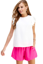 TCEC Flutter Sleeve Top - Product Mini Image