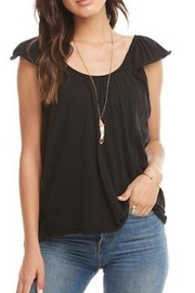 Chaser Flutter Sleeve Top - Product Mini Image