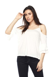 Ambiance Flutter Sleeve Top - Product Mini Image
