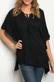 veveret Flutter Sleeve Top - Product Mini Image