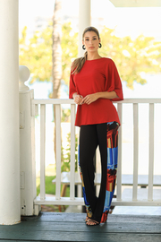 VKY & CO FLUTTER SLEEVE TUNIC - Product Mini Image