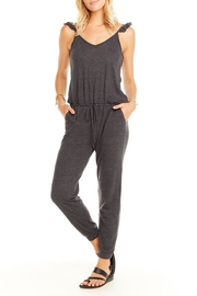 Chaser Flutter V-Neck Jumpsuit - Product Mini Image