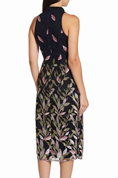 Adrianna Papell Fluttering Leaves Sheath Dress - Alternate List Image