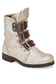 Fly London Stif Military Boot - Front cropped