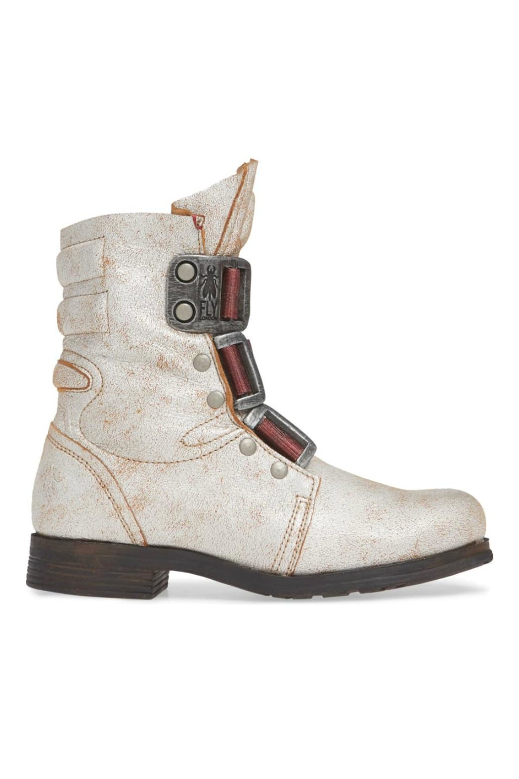 Fly London Stif Military Boot - Front Full Image