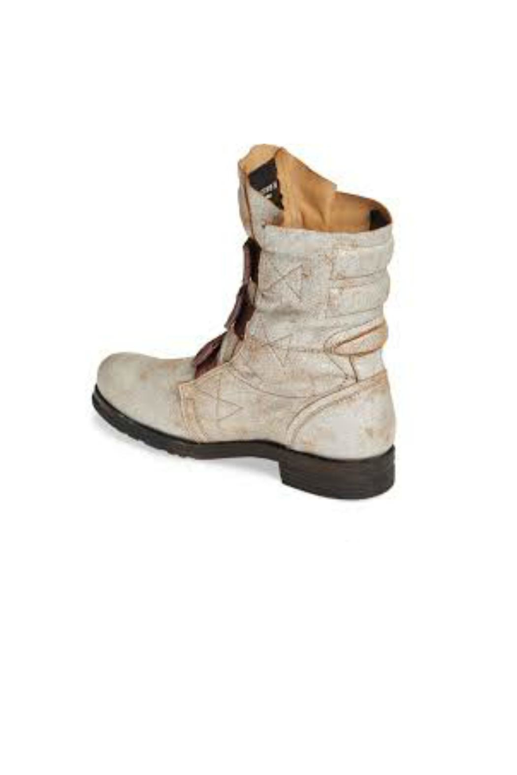 Fly London Stif Military Boot - Side Cropped Image