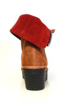 Shoptiques Product: Suede Wedge Boot