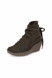 Fly London Suede Yama Bootie - Front cropped