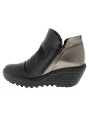 Fly London Yip Bronze Wedge - Front full body