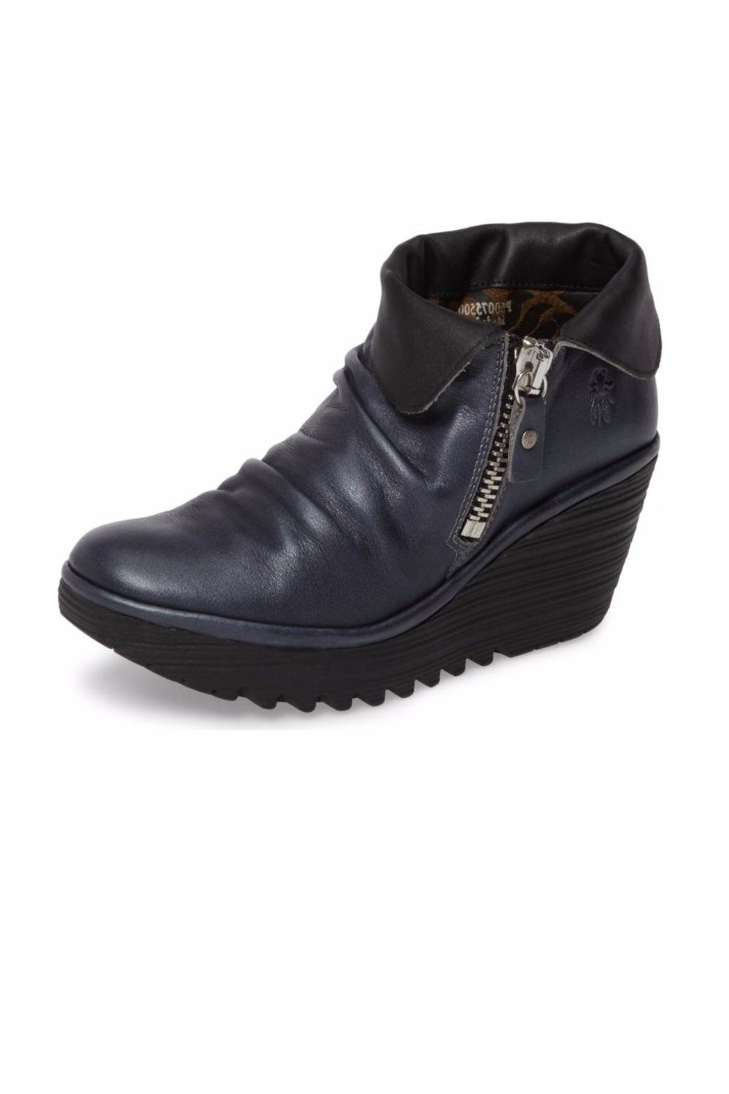 97f859bb25c Fly London Yoxi Wedge Booties from Edmonton by Modern Sole — Shoptiques