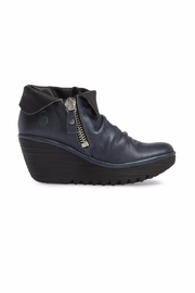 Fly London Yoxi Wedge Booties - Front full body