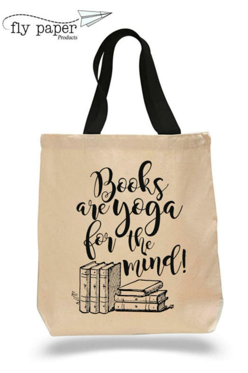 Fly Paper Products Yoga Book Tote - Main Image