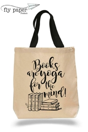 Fly Paper Products Yoga Book Tote - Front cropped