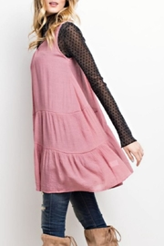 easel Flyaway Layering Tunic - Side cropped