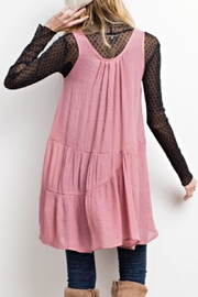 easel Flyaway Layering Tunic - Front full body