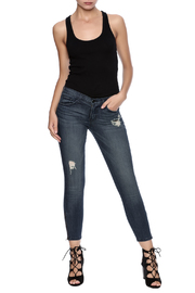 Flying Monkey Ankle Zipper Jean - Front full body