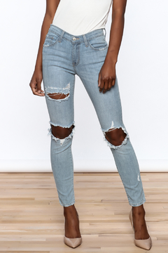 Shoptiques Product: Light Denim Skinny Jeans