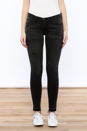 Flying Monkey Distressed Black Jean - Side cropped